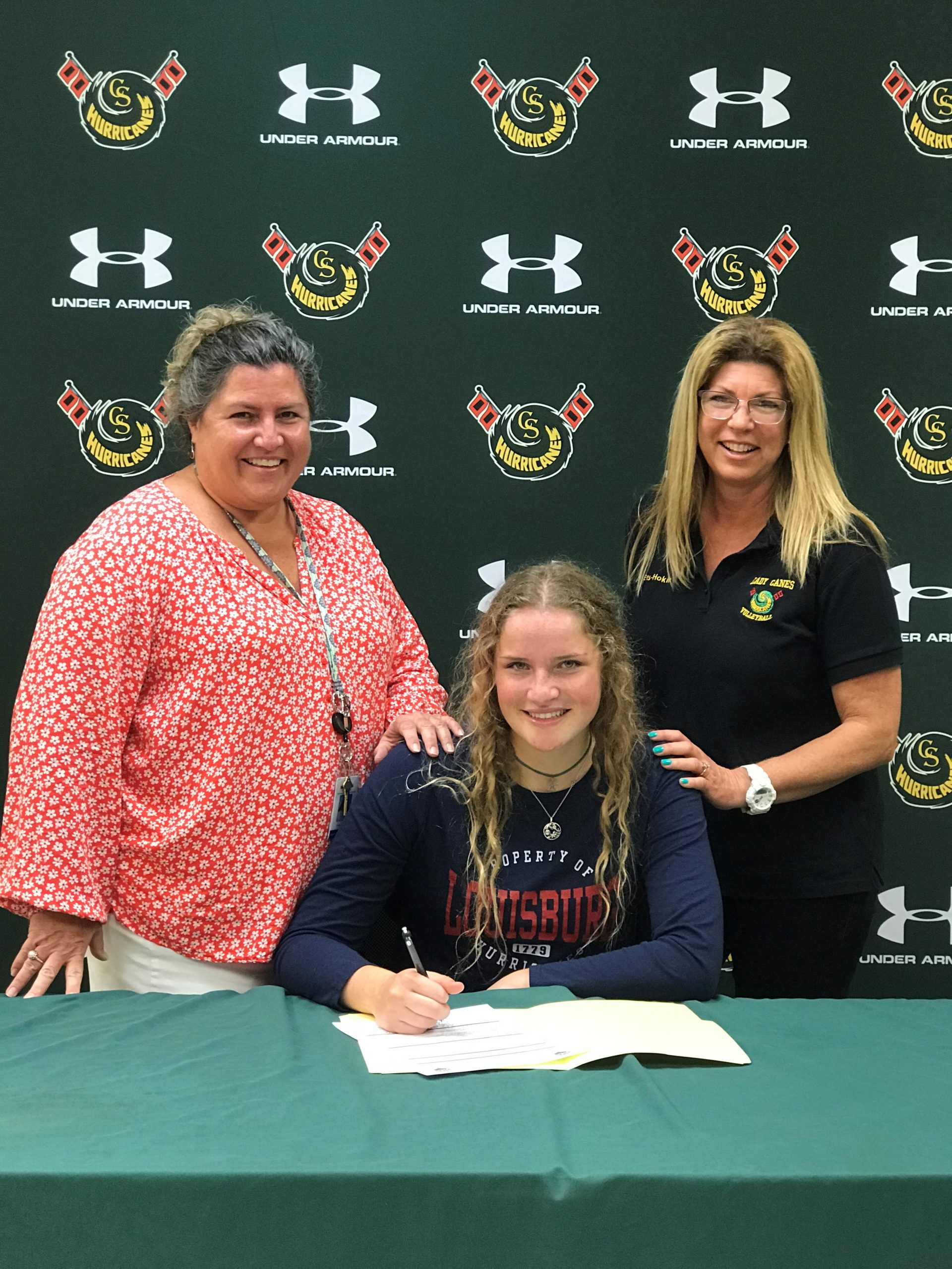 Dobson Signs Volleyball Scholarship Louisburg College Next Destination