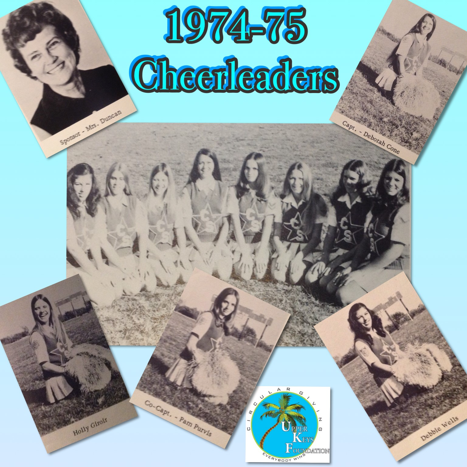 Throwback Thursday March 24 – Class of 1975 Cheer Squad