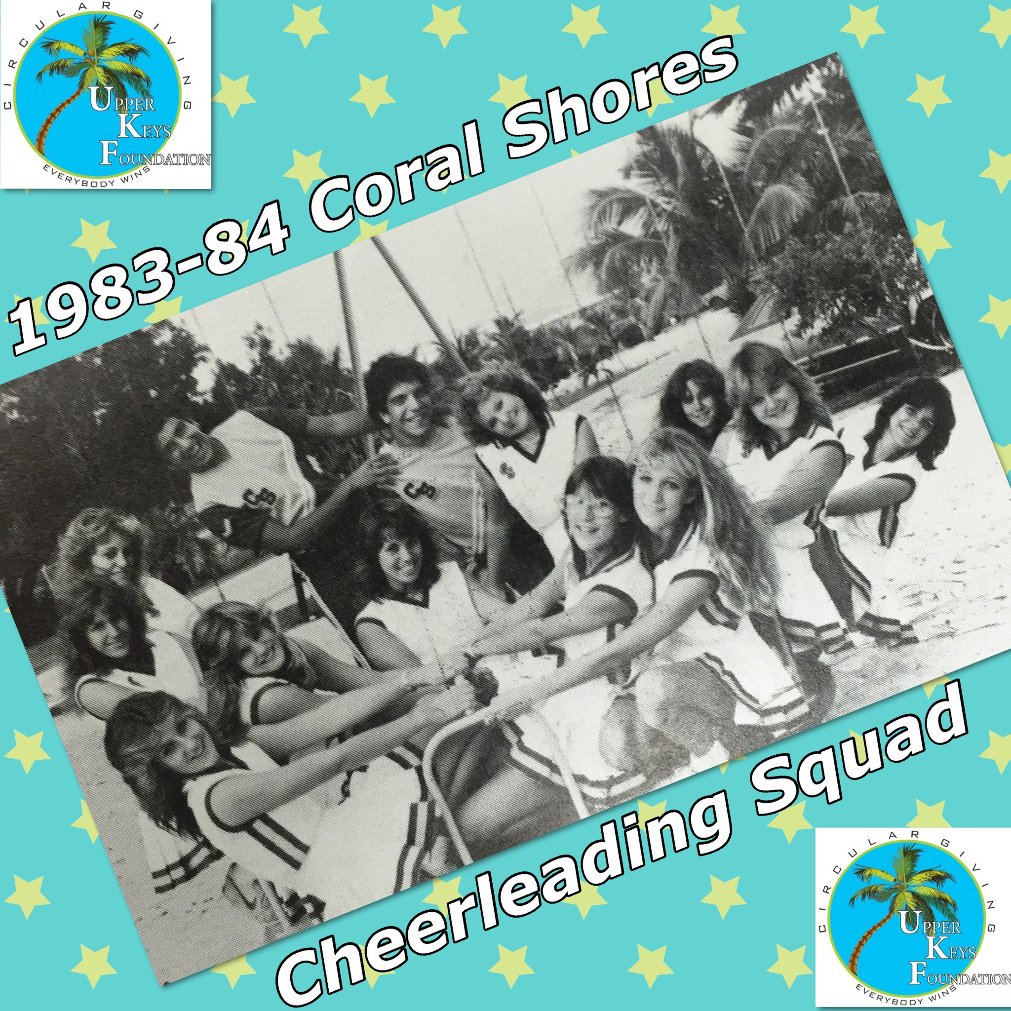 Throwback Thursday 4-1-2021 Class of 1984 Cheerleading Squad